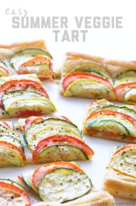 Easy Summer Veggie Tart from Real Food by Dad