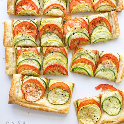 Summer vegetable tart easy summer veggie tart with real food by dad forumfinder Gallery