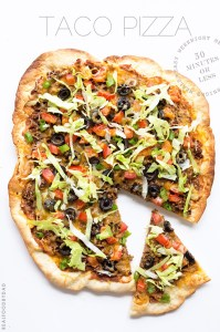 Taco Pizza via Real Food by Dad