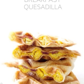 Waffled Breakfast Quesadillas