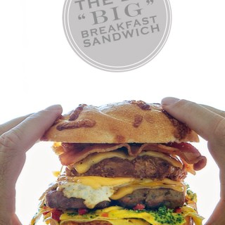 "The Big ""Big"" Breakfast Sandwich"