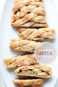 Minute Apple Strudel from Real Food by Dad
