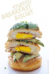 Stuffed Breakfast Biscuit   Real Food by Dad