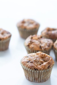 Chocolate Chip Banana Muffins with Real Food by Dad
