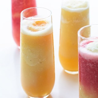 Layered Tropical Smoothies + Move more. Get Fit.