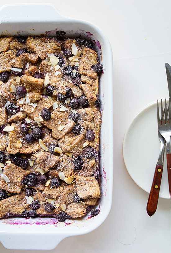 1 Blueberry Lemon French Toast Casserole_Real Food by Dad