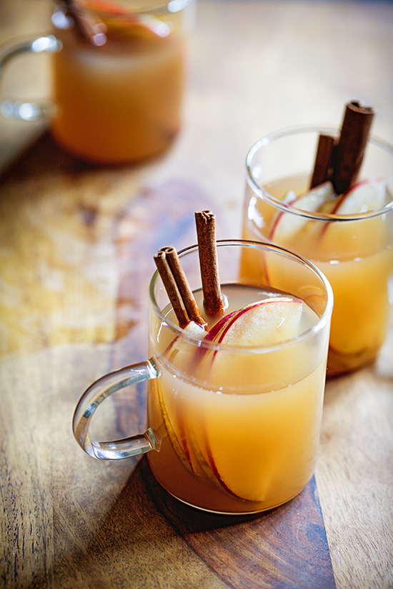 Hot Apple Cider with Buttered Rum via Real Food by Dad