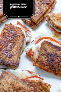 Pepperoni Grilled Cheese Real Food by Da