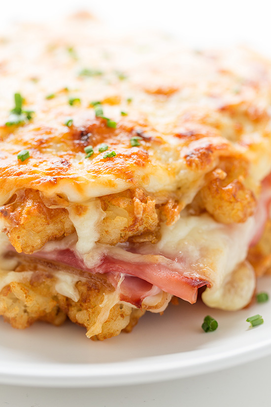 Waffled Hash Brown Croque Monsieur _ Real Food by Dad