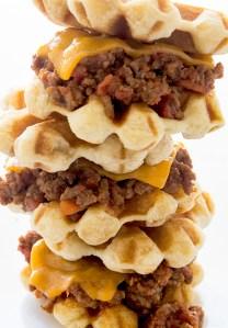 Waffled Sloppy Joe Sliders Real Food by Dad