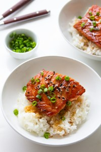 salmon terriyaki via real food by dad