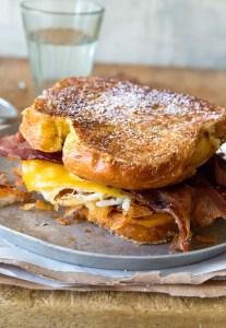 Big Breakfast Sandwich via Real Food by Dad