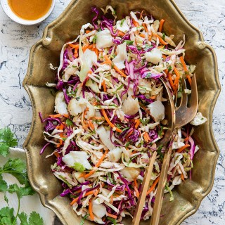 Mexican Coleslaw with Tilapia Real Food by Dad