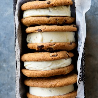 Otis Spunkmeyer Chocolate Chunk Ice Cream Sandwiches