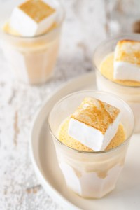Pumpkin Milkshakes with Toasted Marshmallows Real Food by Dad