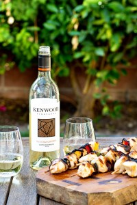Kenwood Wines and Grilled Chicken Real Food by Dad