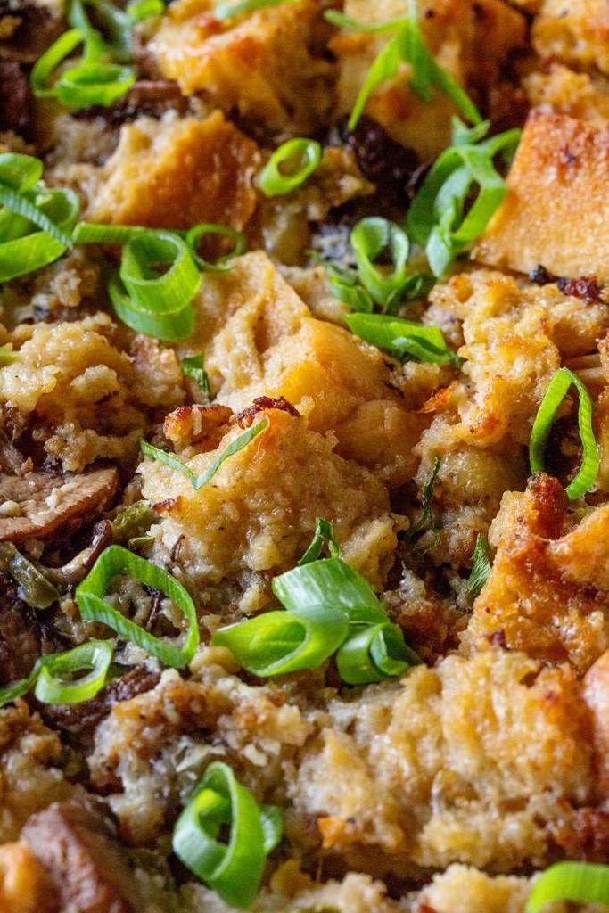 Mushroom and Sausage Breakfast Casserole via Real Food by Dad