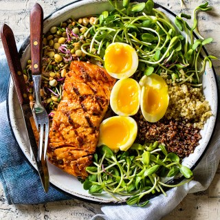 Recipe index real food by dad grilled salmon bowl forumfinder Image collections