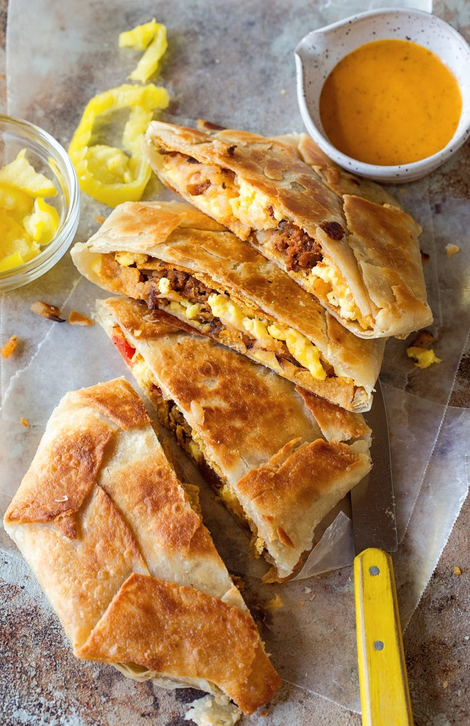 3483b87b9754 Breakfast Crunchwrap Supreme Real Food by Dad