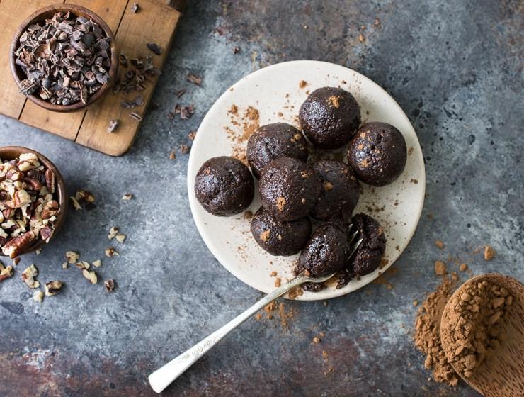 Raw Chocolate and Nut Truffles | Vegan, Gluten Free
