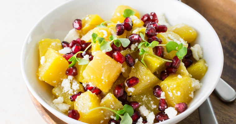 Golden Beet Salad with Citrus Dressing