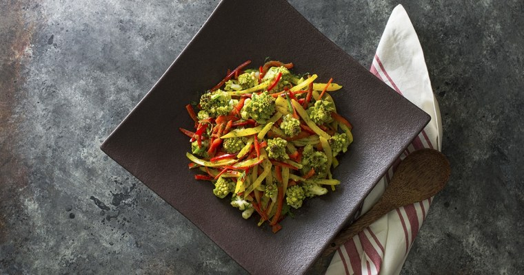 Roasted Romanesco Salad