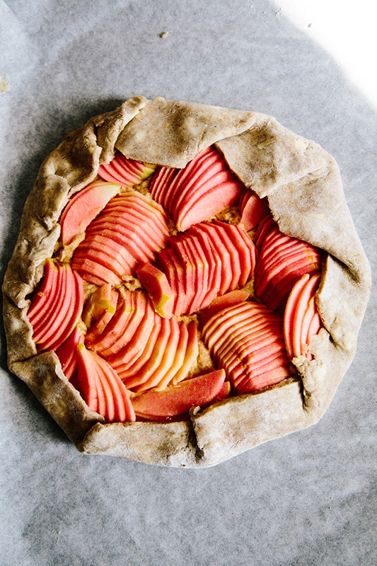 20+ Amazing Apple Recipes for Fall l hidden rose apple tart