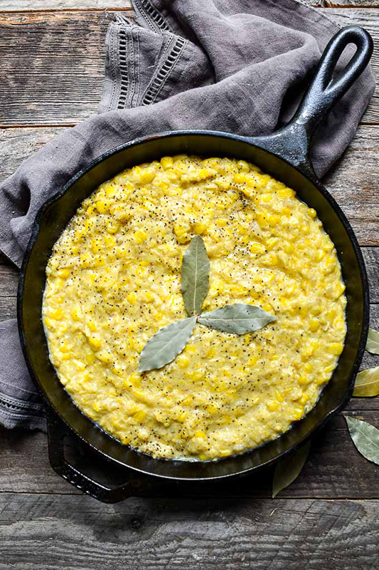 Healthy Thanksgiving Sides Recipe Roundup l vegan creamed corn