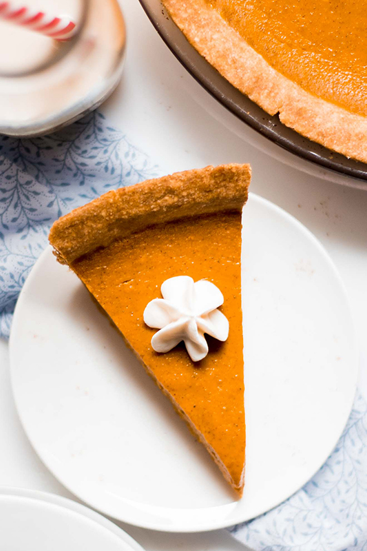 Healthy Thanksgiving Sides Recipe Roundup l healthy pumpkin pie