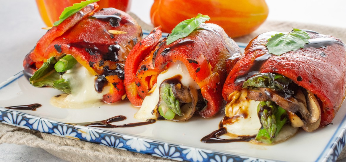 Roasted Enjoya Pepper Roulade