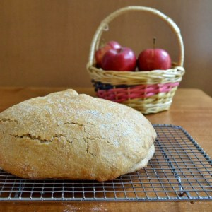No-Knead Apple Pie Bread