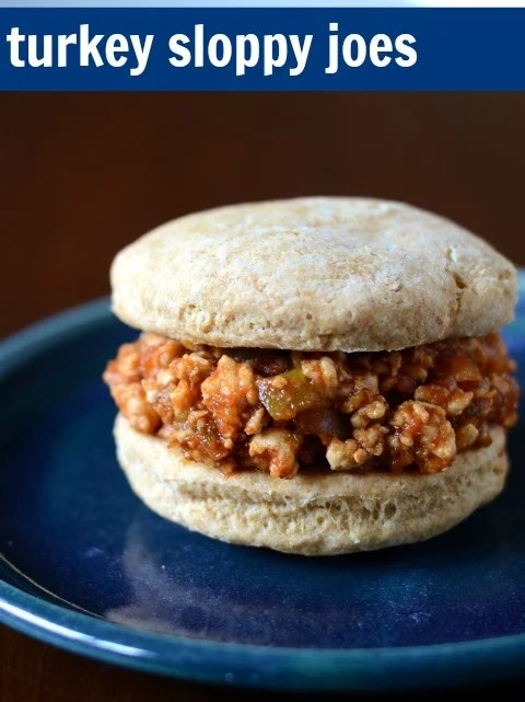 Turkey Sloppy Joes are such a delicious, healthy dinner. This recipe uses whole food ingredients to make this fantastic comfort food.