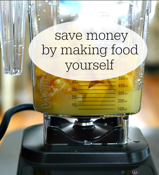 How much money can you save by making food yourself? A ton! Homemade food is almost always cheaper than the store-bought version.