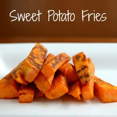 You have to try these sweet potato fries! They're so good, and they're healthy too. Recipe from Real Food Real Deals.