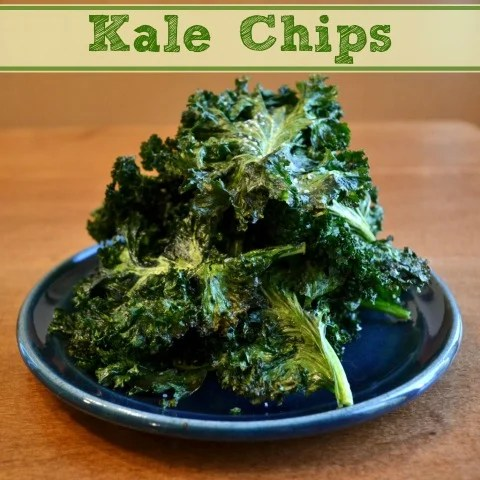 Homemade kale chips are a delicious snack or side dish that taste like potato chips but they're much healthier. This is such an easy recipe!