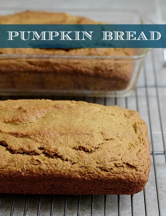 This healthy whole wheat pumpkin bread is a healthy, delicious snack or dessert. This recipe is great for fall, but it's a yummy treat any time of year.