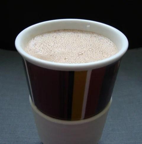 vegan mint hot chocolate recipe