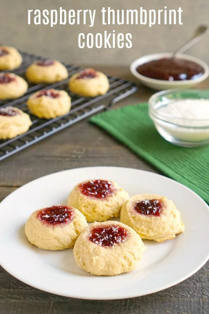 Raspberry Thumbprint Cookies Recipe A Delicious Holiday Dessert