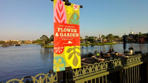 Epcot's Flower and Garden Festival has lots of healthy food options.