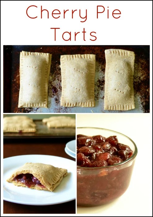 No need to buy Pop Tarts when you can make your own homemade version! These Cherry Pie Tarts taste amazing, and they're actually good for you. Recipe from Real Food Real Deals
