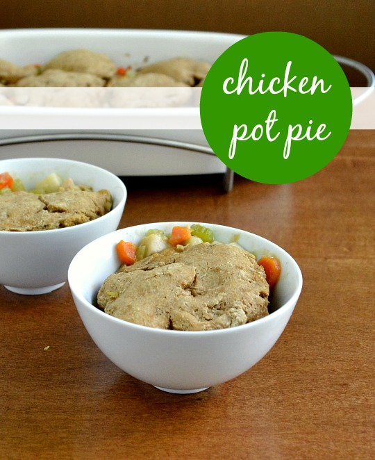 This recipe for chicken pot pie is so popular in my house! Kids and adults love it. | Real Food Real Deals