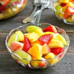 Pineapple fruit salad is the perfect summer side dish.