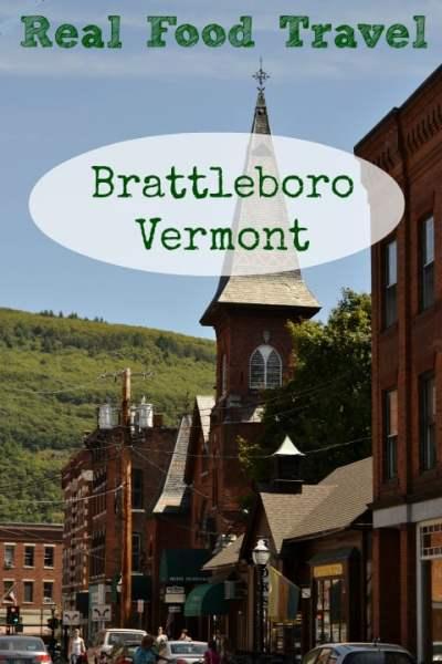 Real Food Travel Brattleboro Vermont