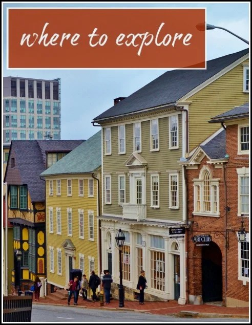 where to explore in Providence
