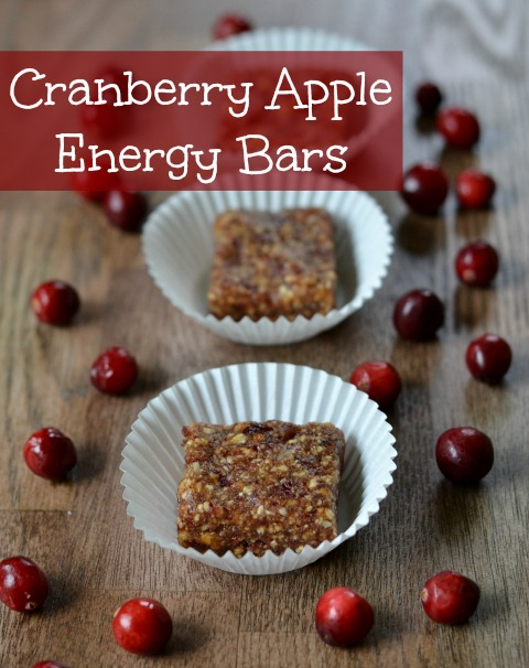 Cranberry Apple Energy Bars are a healthy, high-protein snack that highlights the delicious flavors of fall. I can't get enough of these delicious, fruity bars!