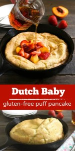This Dutch baby, or German pancake, is so delicious!