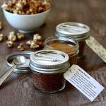 homemade popcorn gift set