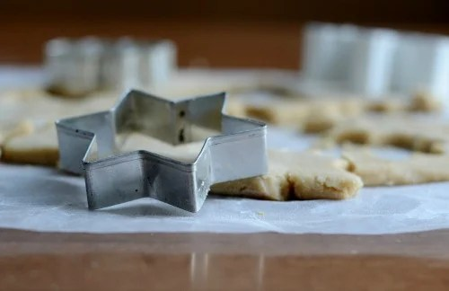 Kids enjoy helping to make the shapes.