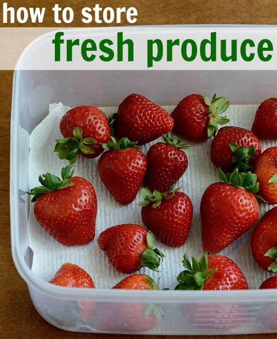 Wilted lettuce and moldy strawberries are so frustrating. Learn how to store fresh produce properly in your kitchen to avoid food waste.