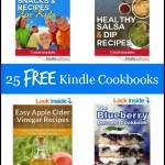 25 free kindle cookbooks